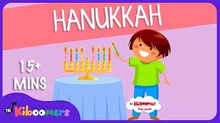 15 Mins Hanukkah Songs for Children | Chanukah | The Kiboomers - YouTube