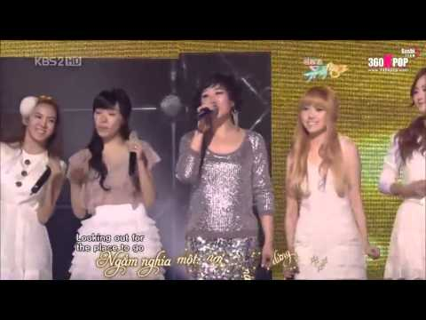 *Vietsub* One Sided Love + Dancing Queen (Mama Mia OST) - SNSD ft.  Juhyung Mi