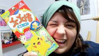 UNBOXING JAPANESE SNACKS FROM MY FRIEND in Japan