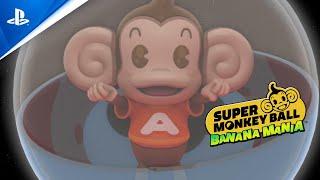 Super monkey ball banana mania :  bande-annonce