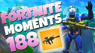 IS THE NEW SCOPED THERMAL OVERPOWERED!? YOU DECIDE! | Fortnite Daily Funny and WTF Moments Ep. 188