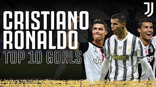 🔥⚽️ Top 10 BEST Cristiano Ronaldo Goals! | Juventus