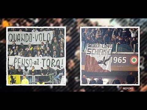 VIDEO - Così la Juventus fece entrare allo stadio gli striscioni su Superga