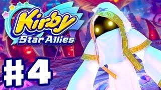 Kirby Star Allies - Gameplay Walkthrough Part 4 - Far Flung Starlight Heroes 100%! (Nintendo Switch)