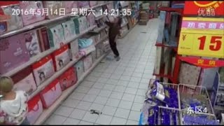 Watch Woman Become 'Possessed' While Shopping in Supermarket