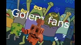 Minecraft Mob Vote Reaction using Spongebob
