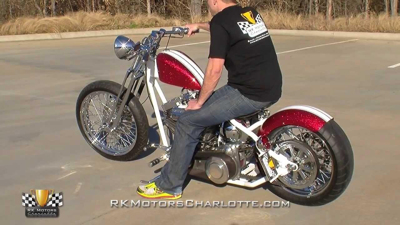 134084 2011 Pb Choppers Custom Bobber Youtube
