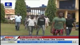 Imo Police Kill Four Armed Robbers