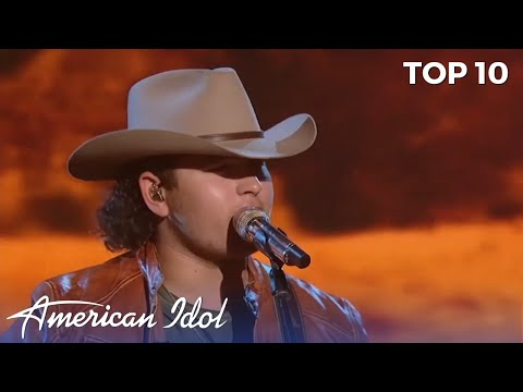 Teen Country Boy Kaleb Kennedy Get The judges ON THEIR FEET With Classic Willie Nelson
