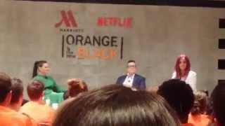 Orange is the New Black; Stars Discuss Filming Sex Scenes