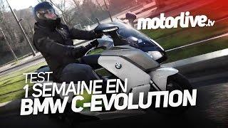 BMW C-Evolution : une semaine d'essai en vidéo