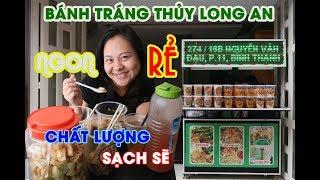 Huyền Thoại Vy và câu chuyện Bánh Tráng Sa Tế Long An (Bánh Tráng Thủy) - Món ăn vặt tuổi thơ
