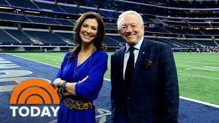 Dallas Cowboys Power Duo: Jerry Jones And Daughter Charlotte | TODAY