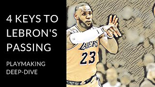 Why LeBron James is peaking as a passer