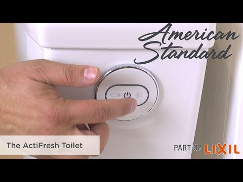 Don't just cover up odor in the bathroom, eliminate it with the ActiFresh™ Toilet from American Standard. The innovative ActiFresh technology pulls the odor through an air purifying charcoal filter with a high-powered fan to stop odor where it starts – in the toilet bowl. Simply press the Power button before use, and the amazing ActiFresh system will pull odor through the holes to the charcoal filter, and get rid of them. The ActiFresh toilet is available exclusively at Menards.