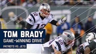 Tom Brady Leads Game-Winning Drive! | Patriots vs. Jets | NFL