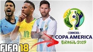 SIMULATING COPA AMERICA 2019 IN FIFA 18!!! - FIFA 18 Experiment