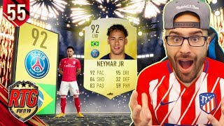 OMG I PACKED NEYMAR IN DRAFT REWARDS! FIFA 19 Ultimate Team #54 RTG