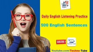 English Listening Practice: 500 Sentences in engilsh