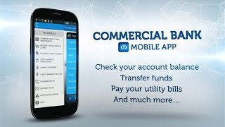 Commercial Bank Mobile Banking App
