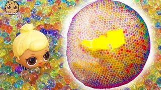Giant Orbeez Ball ! LOL Surprise + Fun Mystery Blind Bags