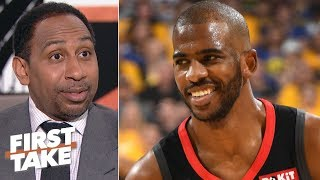 Stephen A. explains how a Chris Paul trade to the 76ers would work for Philly, Rockets   First Take