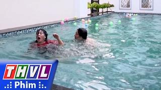 THVL | Osin nổi loạn - Tập 9[1]: Thấy ông Cẩn đang bơi, Dạ Khê nhảy ùm xuống hồ