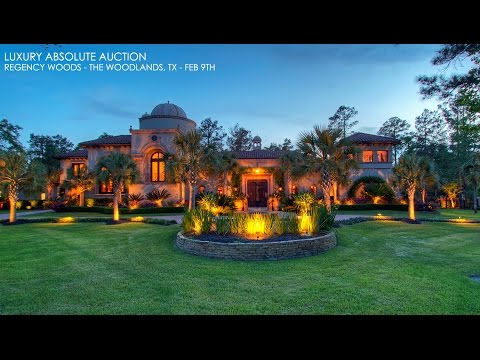 Supreme Auctions returns to Greater Houston for No Reserve Auction of Stunning Mediterranean Estate February 9th