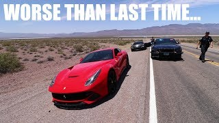 I was pulled over in my RENTED FERRARI