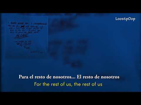 XXXTENTACION - HOPE (SUB español/Ingles) (Lyrics ESP/INGLES)
