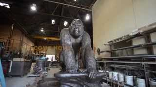 'TEASER: The Gorilla Statue