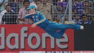 Top 10 Best Boundary Saves in Cricket - Best Fielding in Cricket Ever