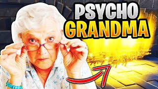 Psycho Grandma Rages At Scammer! (Scammer Gets Exposed) Fortnite Save The World