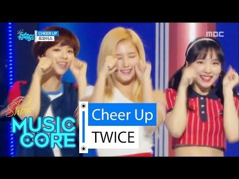 [Comeback stage] TWICE - CHEER UP, 트와이스 - CHEER UP Show Music core 20160430