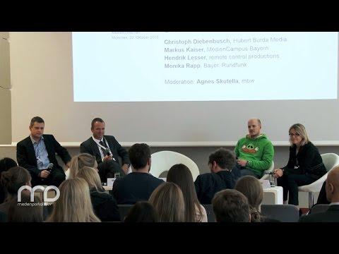 Diskussion: Fachkräfte in der digitalen Medienwirtschaft