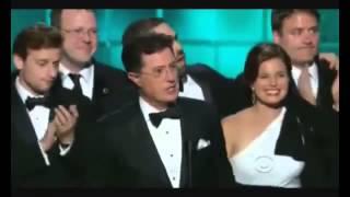 The Colbert Report wins Emmy Award 2013 [HQ]