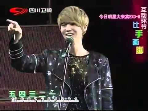 {eng sub} [full] 120729 EXO-M China Big Love Song Gathering 中国爱大歌会