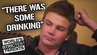 Family Find Out About Teens Drinking | World's Strictest Parents