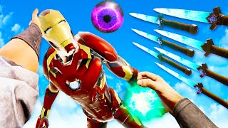 I Destroyed Iron Man with Insane Dagger Bending Skills in Blade and Sorcery Multiplayer VR!