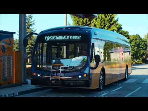 King Country Metro All-Electric Bus - from Proterra
