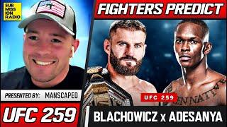 FIGHTERS PREDICT: Jan Blachowicz vs. Israel Adesanya | UFC 259