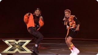 Acacia & Aaliyah sing Big For Your Boots/ Shutdown | Live Shows Week 6 | X Factor UK 2018