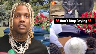 Lil Durk at King Von Memorial (Hard Not To Cry)