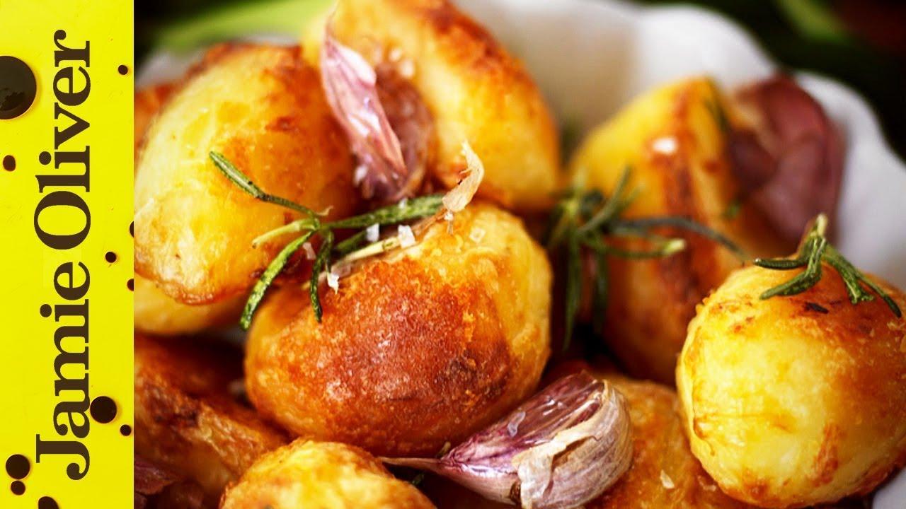 Jamie S Perfect Roast Potatoes Youtube