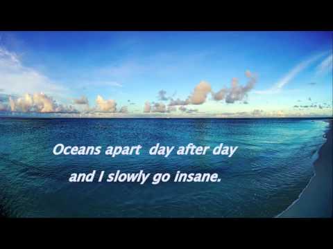 Right here waiting-Richard Marx . with lyrics(piano)
