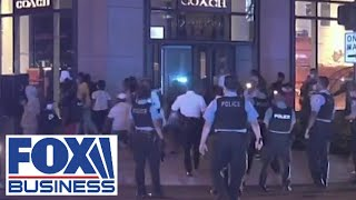 Rioting and looting rocks Chicago following police-involved shooting