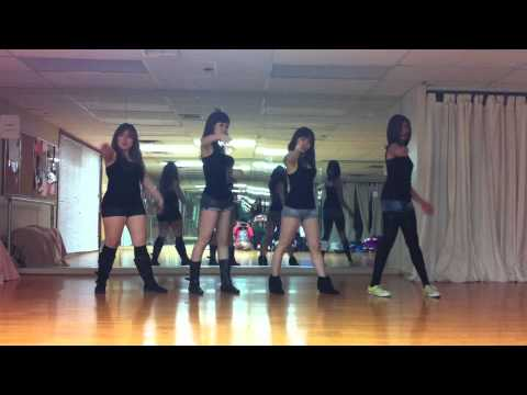 (students version) Love Alone-Miss A dance cover