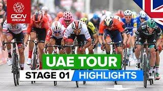 UAE Tour Stage 1 Highlights | The Pointe › Dubai Silicon Oasis