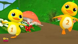 Five little Ducks   kids song Baby song   Nursery Rhymes for Babies