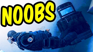 The Noobs of Siege - Rainbow Six Siege Funny Moments & Epic Stuff
